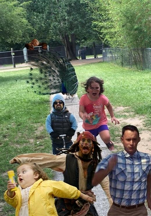 """Khi trên """"cùng cung đường chạy"""" với chàng cướp biểnJohnny Depp, tài tửTom Hulk, cùng hàng loạt các gương mặt """"đình đám"""" khác.(Ảnh: Internet)"""