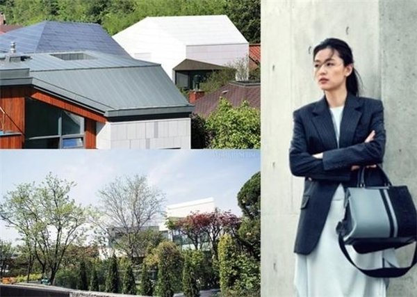 Hé lộ hình ảnh về căn biệt thự siêu cao cấp của gia đình Jeon Ji Hyun.