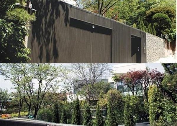 Một vài hình ảnh hiếm hoi về căn biệt thự được tiết lộ.