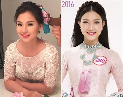 Cả hai sở hữu gương mặt thuần Việt với những đường nét hài hòa.