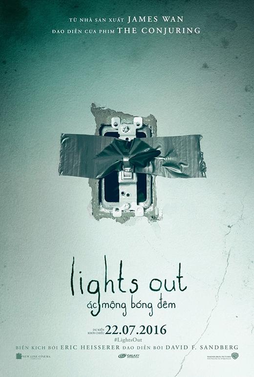 Lights Out - bộ phim ma trông chờ nhấttháng 7. (Ảnh: Internet)