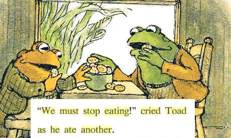 """#4 """"Mình mập quá rồi, mình phải bớt ăn lại"""" – tui vừa ăn vừa nghĩ trong làn nước mắt. (Ảnh: Internet)"""