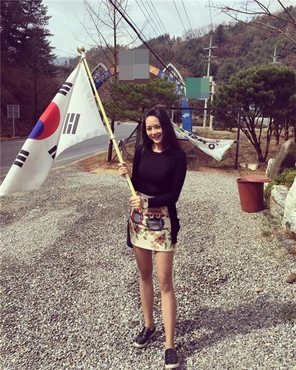 Quỳnh đang làm trong một công ty Hàn Quốc.