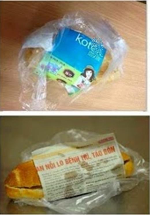 Nếu bạn mắc bệnh trĩ và táo bón thì cứ ăn bánh mì của chúng tôi. Bảo đảm khỏi.(Ảnh: Internet)