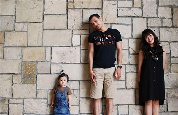 Mái ấm hạnh phúc của gia đình 3 người nhà Diệp Chi. (Ảnh: Internet)