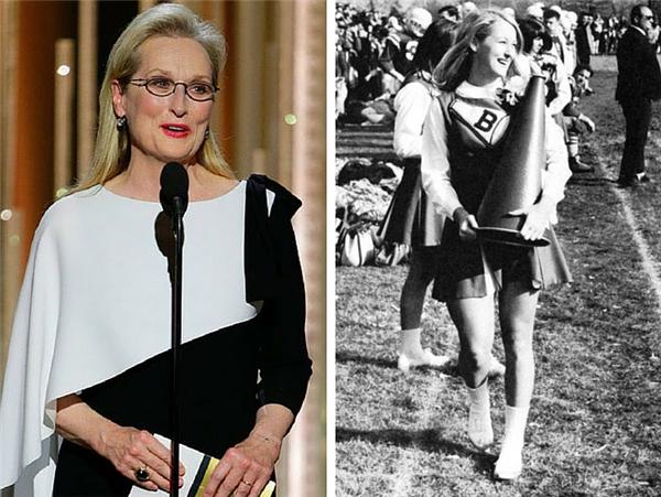 """Meryl Streep (1949): """"Nữ diễn viên tài năng nhất thế hệ mình"""" có số lượng vai diễn cực kìphong phú và đa dạng cộng với sắc đẹp mãi... không chịu phai tàn theo năm tháng."""