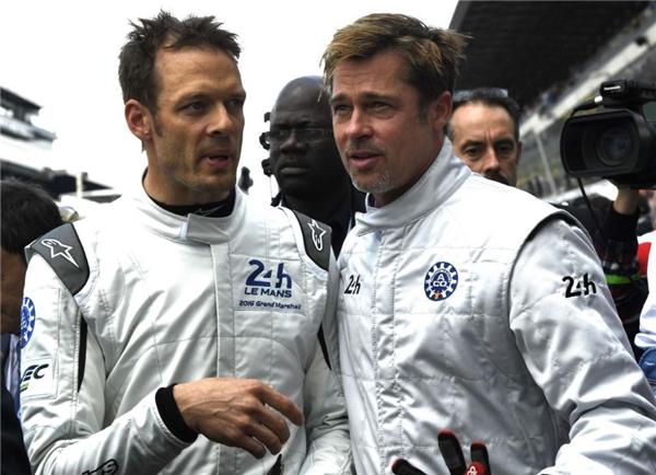 Brad Pittnăm nay lại tham dự Giải đua 24 Le Manstại nước Pháp. (Ảnh: Internet)