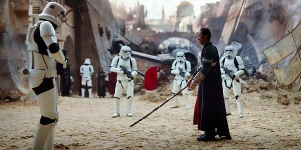 Một cảnh phim có sự góp mặt của Chân Tử Đan.