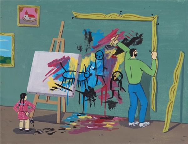 Sự khác biệt giữa một tác phẩm nghệ thuật và một tác phẩm vớ vẩn nằm ở khả năng thưởng thức của con người.