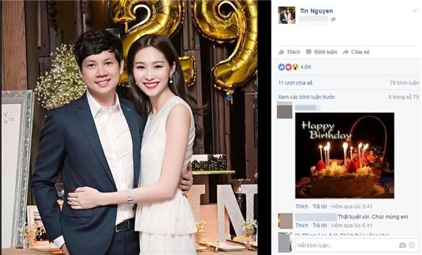 Thế nhưng mới đây, trong dịp sinh nhật mừng tuổi 29, bạn trai Đặng Thu Thảo đã lần đầu chia sẻ hình ảnh hạnh phúc bên người đẹp Bạc Liêu khiến công chúng vô cùngngưỡng mộ.(Ảnh Internet) - Tin sao Viet - Tin tuc sao Viet - Scandal sao Viet - Tin tuc cua Sao - Tin cua Sao