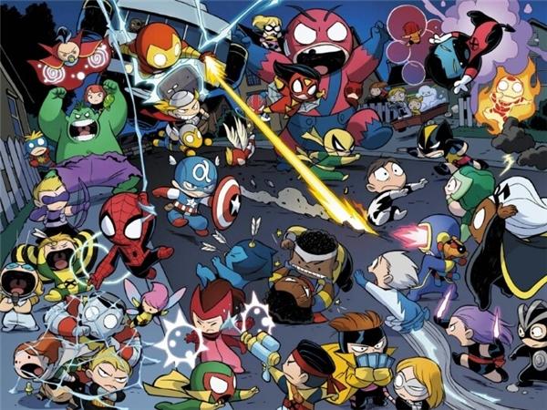 Trận chiến kinh hoàng nổ ra giữa đêm hôm thanh vắng với đầy đủ các thành viên siêu anh hùng lẫn dị nhân.