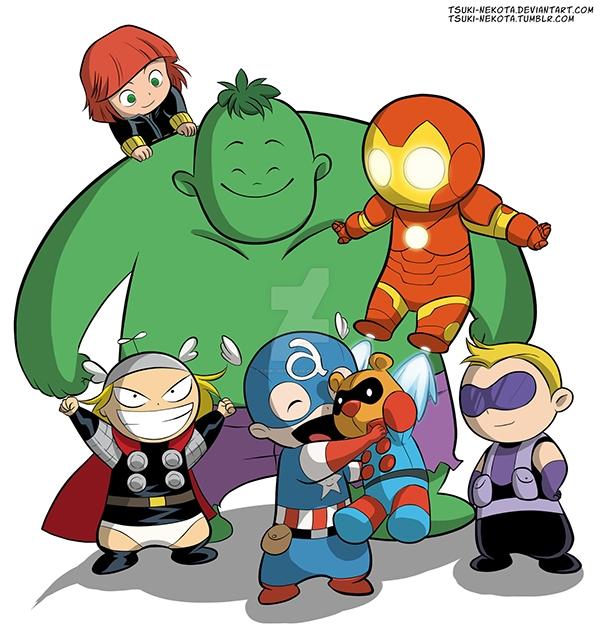 Cuối cùng cả biệt đội đã cứu được Gấu Bucky an toàn về lại trong vòng tay Cap.