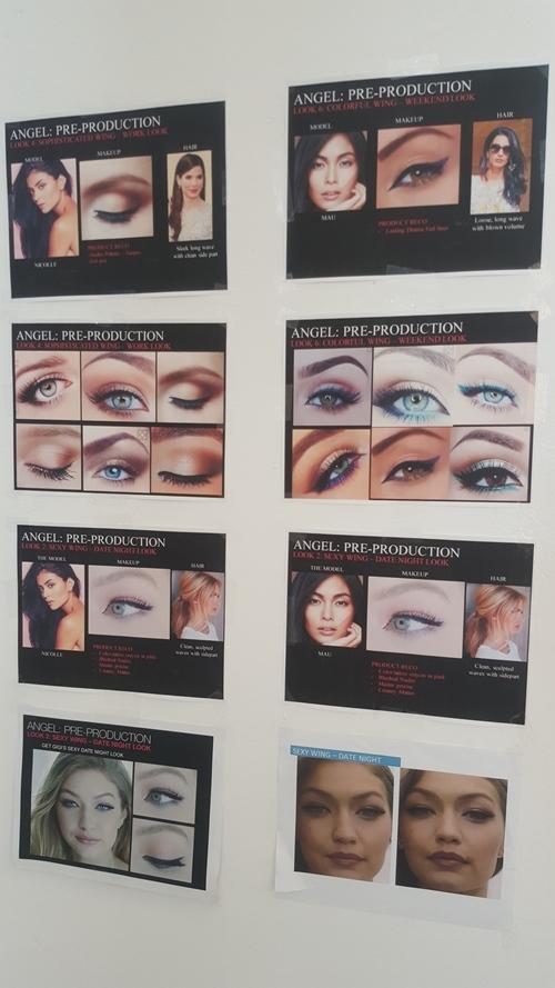 Góp mặt trong chiến dịch này còn có thiên thần Victoria's Secret Gigi Hadid. 3 người mẫu được sắp xếp 3 khung thời gian chụp khác nhau nên họ không thể gặp mặt.