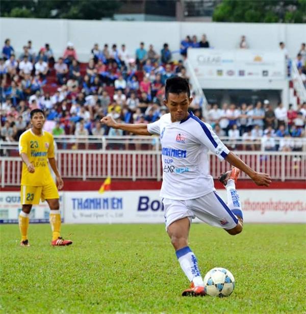 Cầu thủ Thanh Thảo từng được gọi lên tuyển U21 Quốc gia. Ảnh: Internet