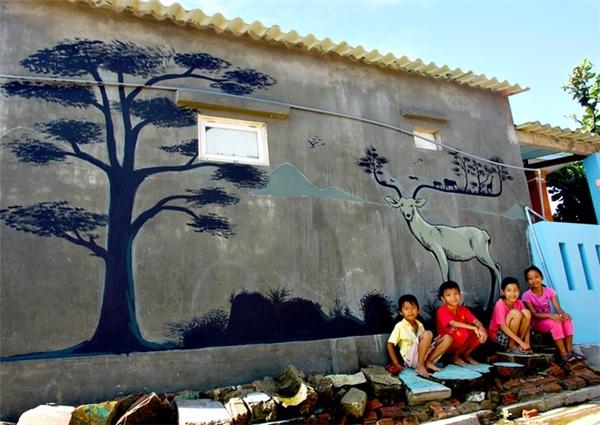 Ngôi làng bích họa ở Quảng Nam đẹp ngỡ ngàng như trên đất Ý