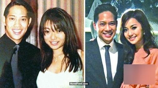 Cô gái xinh đẹp và hạnh phúc bên chồng một thời.