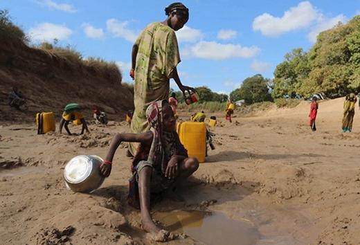 Nước đang trở nên thành thứ xa xỉ không chỉ với người dân Somalia mà còn cả khu vực Sừng châu Phi.