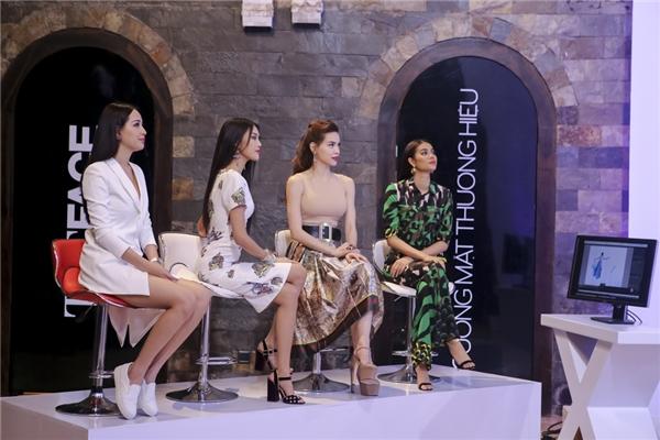 Trong thử thách chụp ảnh đồng đội cho một thương hiệu, Hoa hậu Mai Phương Thúy chính là giám khảo quyết định số phận của 3 đội. Mặc dù đánh giá cao đội Lan Khuê và Hồ Ngọc Hà nhưng Hoa hậu Việt Nam 2006 lại chọn đội chiến thắng là Phạm Hương.