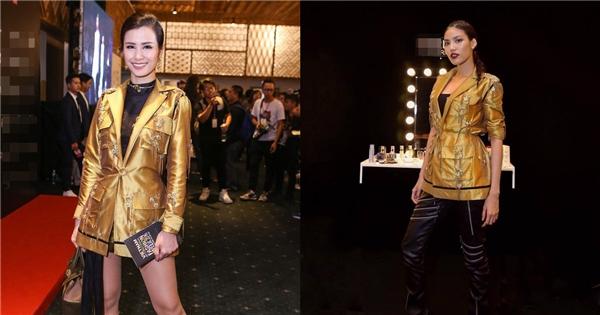 Dù không sở hữu chiều cao nổi bật như Lan Khuê và chọn tạo hình khá an toàn nhưng Đông Nhi vẫn ghi điểm tuyệt đối nhờ tinh thần đơn giản, sang trọng. Trong khi đó, cách kết hợp trang phục và cách trang điểm của top 11 Hoa hậu Thế giới 2015 trông khá nặng nề.