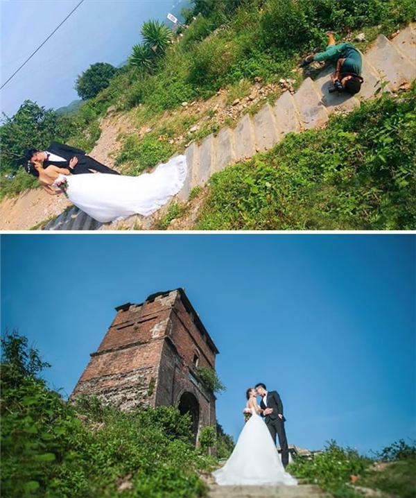Để có ảnh cưới đẹp cần nhiếp ảnh gia siêu có tâm