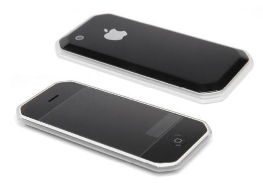 Bạn nghĩ sao về mẫu iPhone có 8 cạnh. Thậm chí nút Home cũng được thiết kế dạng bát giác đều 8 cạnh.(Ảnh: Internet)