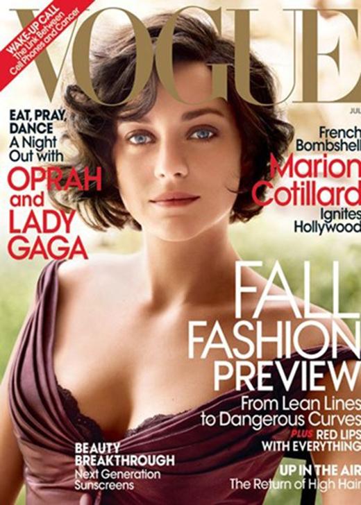 """Chỉ đến khi đóng vai danh ca Edith Piaf trong bộ phim """"La Vie en Rose"""" năm 2007, sự nghiệp diễn xuất của Marion Cotillard mới thực sự có bước ngoặt lớn. (Ảnh: Hollywoodlife)"""