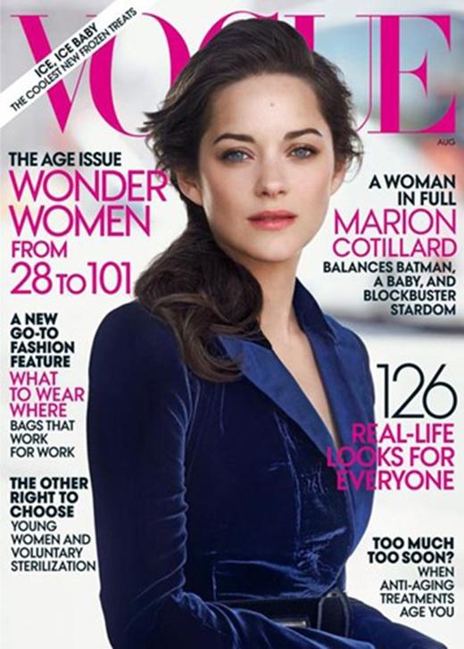 Bông hồng nước Pháp cũng từng giành chiến thắng trong cuộc bầu chọn 100 gương mặt đẹp nhất năm 2013. (Ảnh: Hollywoodlife)