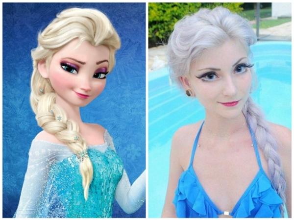 Bạn có bao giờ nghĩ rằng nàng Elsa lại có thật ngoài đời chưa?