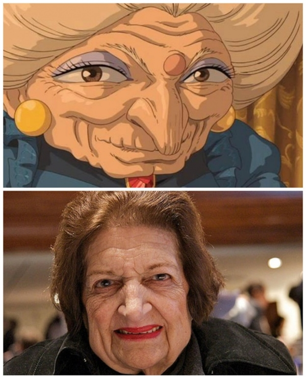 Thật tội nghiệp, chỉ là bà ấy lỡ có gương mặt giống phù thủy thôi mà.