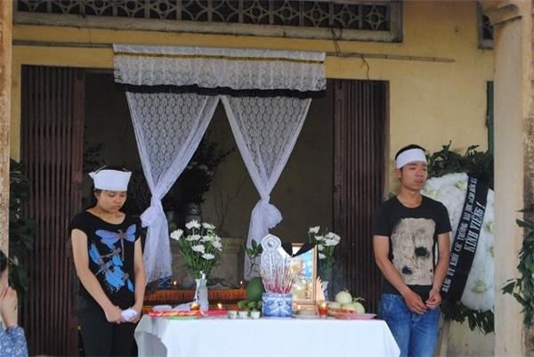 Lễ tang của Ngân diễn ra tại Hà Nội. Ảnh: VNN
