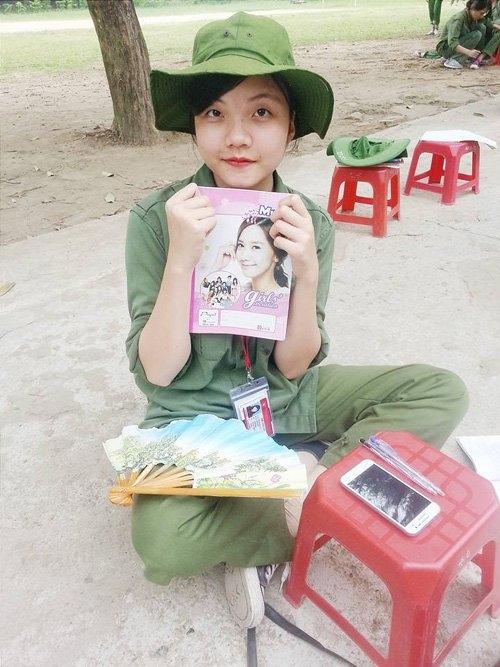 Nữ sinh Nguyễn Thị Hải. Ảnh: FB