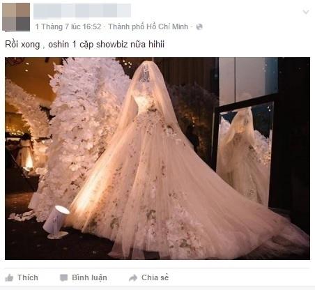 Stylist thân thiết của cặp đôi Ngọc Lan - Thúy Diễm khoe với người hâm mộ chiếc váy cưới lộng lẫy. - Tin sao Viet - Tin tuc sao Viet - Scandal sao Viet - Tin tuc cua Sao - Tin cua Sao