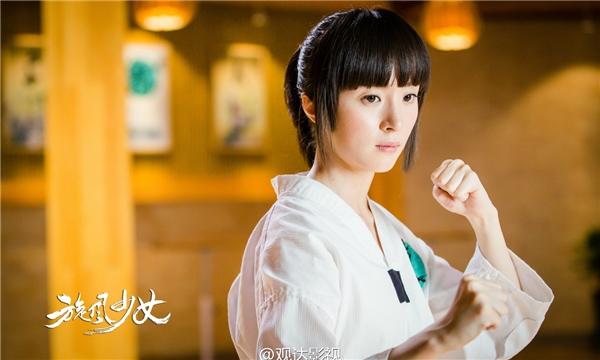 Bách Thảo của Hồ Băng Khanh trong Thiếu Nữ Toàn Phong không có ngoại hình xinh đẹp lung linh, không có khuôn mặt bầu bĩnh đáng yêu nhưng lại chinh phục khán giả bằng niềm đam mê nhiệt huyết với môn Taekwondo.