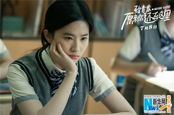 Hóa Ra Anh Vẫn Ở Đây là tác phẩm điện ảnh mới nhất của Lưu Diệc Phi đang nhận được quan tâm đặc biệt của khán giả. Trong phim cô vào vai nữ sinh nhà nghèo Tô Vận Cẩm.
