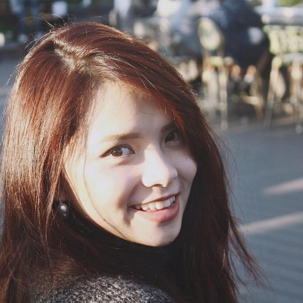 Thu Trang có gương mặt khả ái, dễ thương như búp bê...