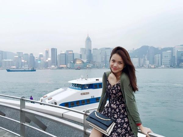 Em gái Đan Lê dịu dàng, tươi tắn trong những chuyến đi vòng quanh châu Á.