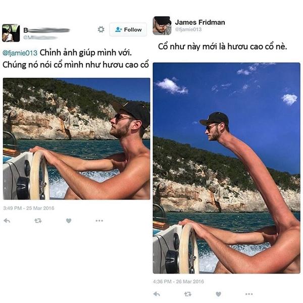 Quỳ lạy với trình photoshop bá đạo của anh chàng này