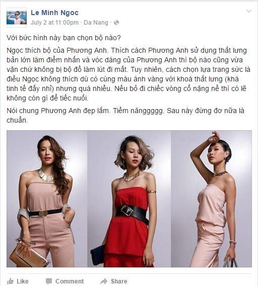 """Học trò Phạm Hương bị """"tố"""" gian lận tại The Face"""