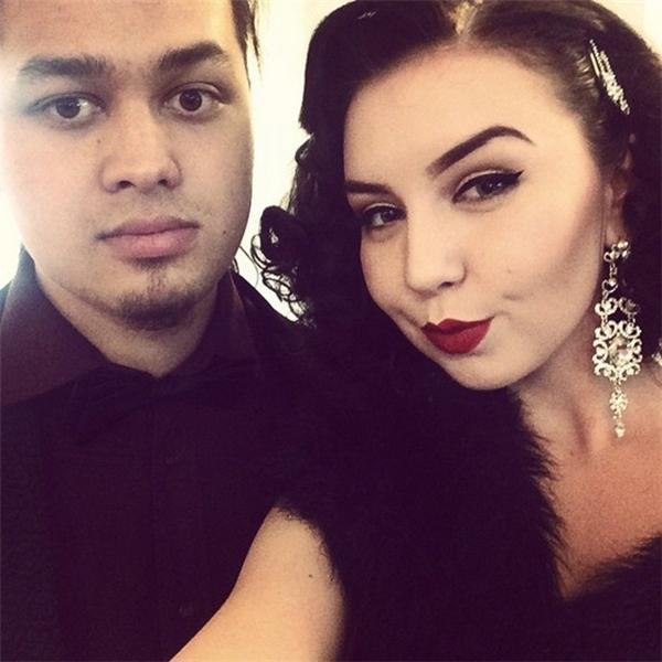 Alan và bạn gái Jagoda