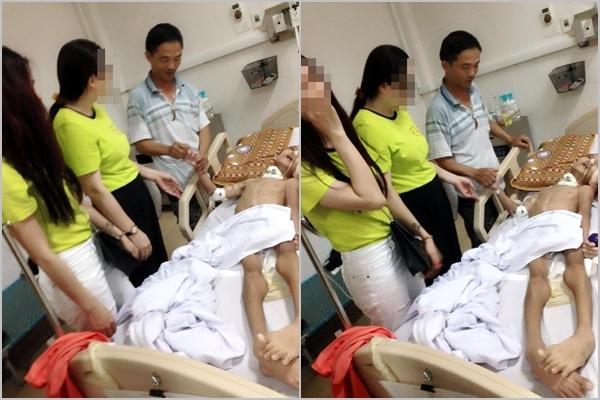 Họa vô đơn chí: bà mù lòa, bố bị thương nặng, con sống kiếp thực vật