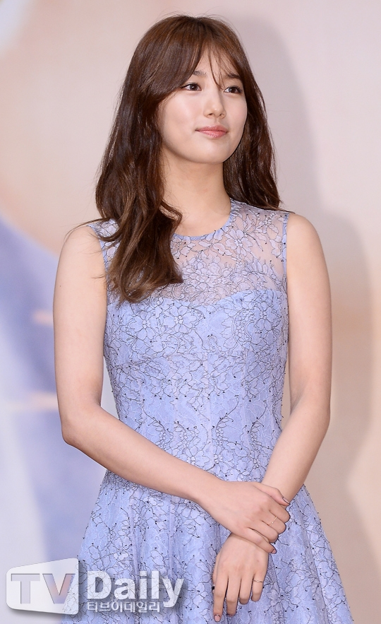 Suzy xinh như mộng khiến Kim Woo Bin cũng phải ngượng ngùng