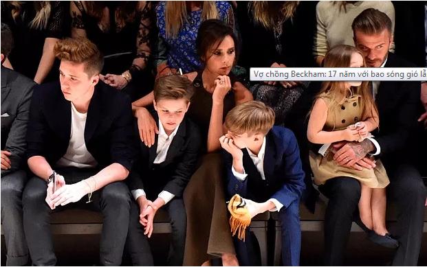 Gia đình đẹp như mơ của vợ chồng Beckham