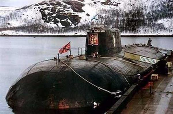 Tàu ngầm Kursk.