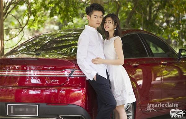 Trần Hiểu và Trần Nghiên Hy rạng ngời khi chính thức thành vợ chồng