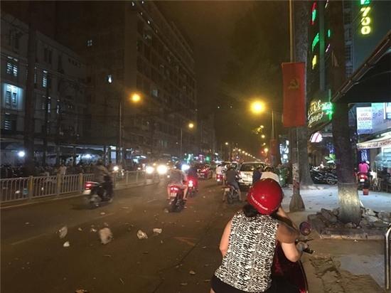 Một đợt dông, lốc xoáy đã quét qua Sài Gòn. Ảnh: Internet