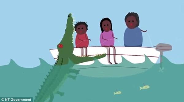 """5. Hãy thử tưởng tượng một chút xíu, bạn đang đi trên một con thuyền """"mong manh dễ vỡ"""" trên vùng đầm lầy cá sấu rất nhiều. Sau vài phút yên ả trên đầm, chuyện """"kinh dị"""" xảy ra... thuyền bị tấn công, thủng lỗ, sắp chìm, còn bạn thì sắp vô bụng lũ cá sấu. Theo bạn, làm cách nào để thoát khỏi cảnh """"ngàn cân treo sợi tóc"""" đó đây?(Ảnh Internet)"""