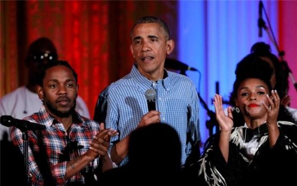 Tổng thống Mỹ Barack Obama tại buổi lễ mừng Quốc khánh Mỹ 4/7 vừa qua.(Ảnh: Internet)