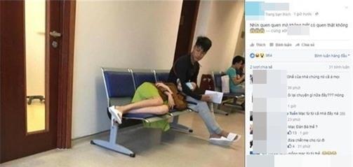 Tuy nhiên mới đây, một trang mạng xã hộiđã đăng tải hình ảnh được chụp tại hành lang của một bệnh viện. - Tin sao Viet - Tin tuc sao Viet - Scandal sao Viet - Tin tuc cua Sao - Tin cua Sao