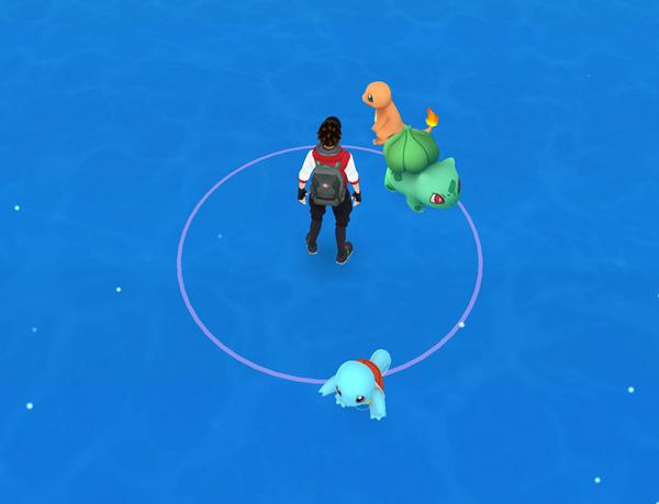 Thu phục Pokémon trong game. (Ảnh: internet)