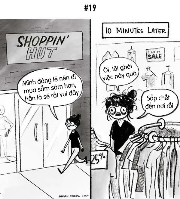 Ai bảo shopping là vui, shopping khổ lắm chứ. Đặc biệt là vào những dịp hạ giá.
